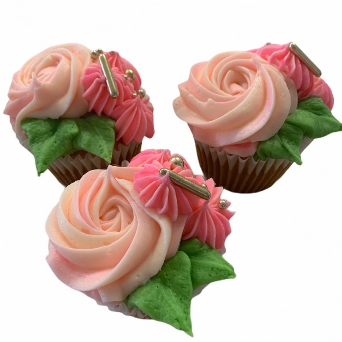 Modern Bouquet Cupcakes 6 Pack