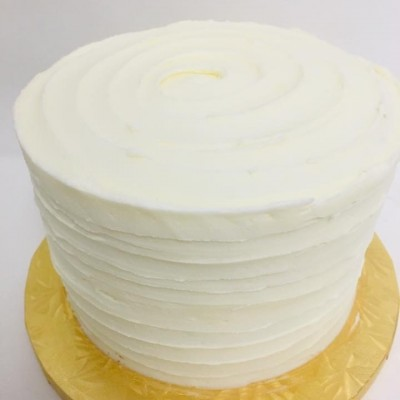 Textured Cake 6-Inch double Layer Cake (serves 12-15)