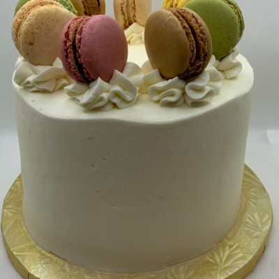 Paris is Always a Good Idea... French Macaron Cake 6-Inch