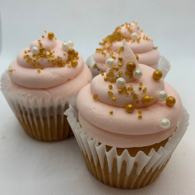 POP the Cork Champagne Cupcakes