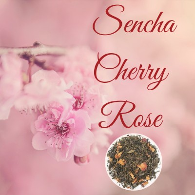 Sencha Cherry Rose Green Tea