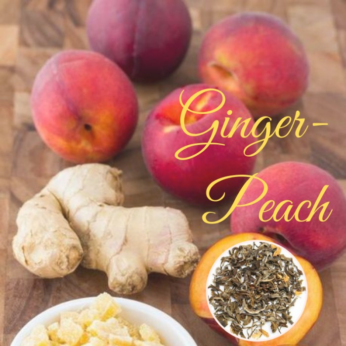 Peach Ginger White Tea
