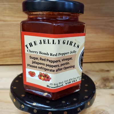 Red Pepper Jelly - Cherry Bomb