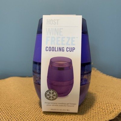 Wine Freeze Cooling Cup (Purple)