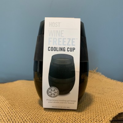 Wine Freeze Cooling Cup (Black)