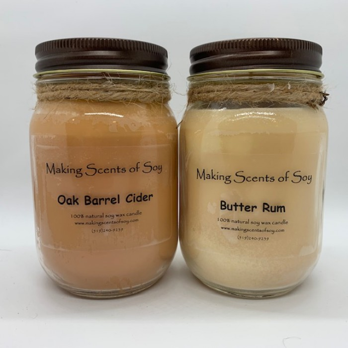 Food Scent Soy Candles